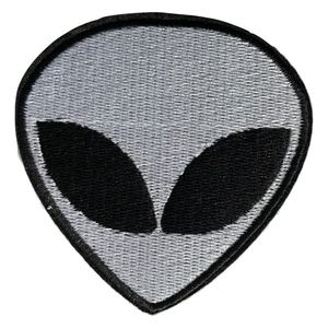 Iron On Patch, Alien, punk Style, Patches, DIY